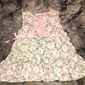 Strawberry and flower summer dress